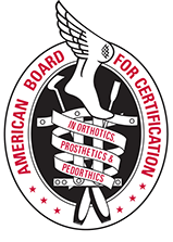 American Board Certification, Pedorthics Crest