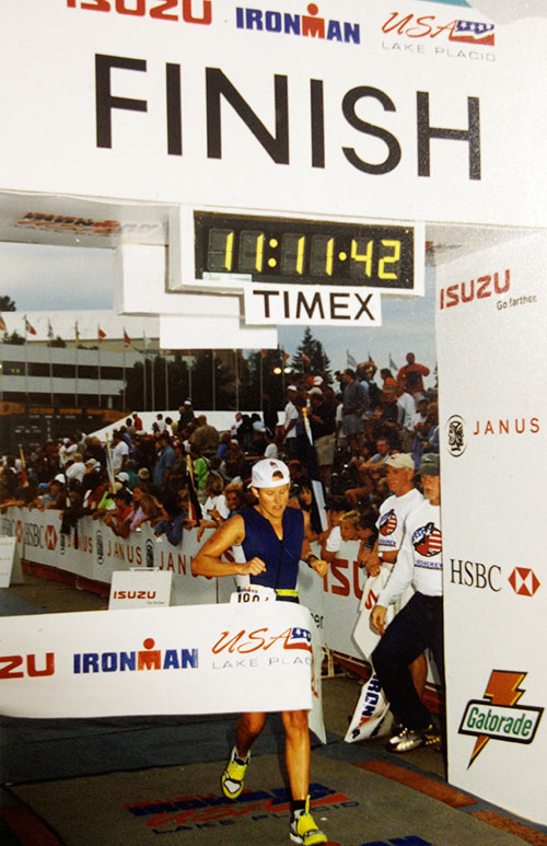 Tammy Harbison Ironman Finish - Orthotics Expert